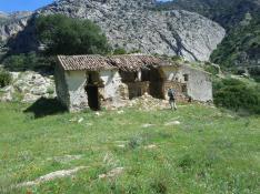 Öde hus som låg väldigt öde....