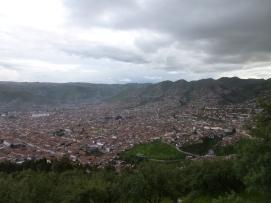 Utsikt över Cusco