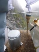 Toalett med utsikt!