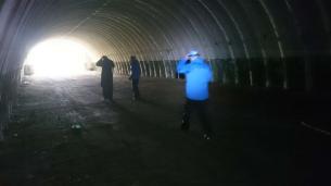 Ljuset i tunneln....